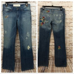 Joes Jeans havens Boho Floral Embroidery bootcut